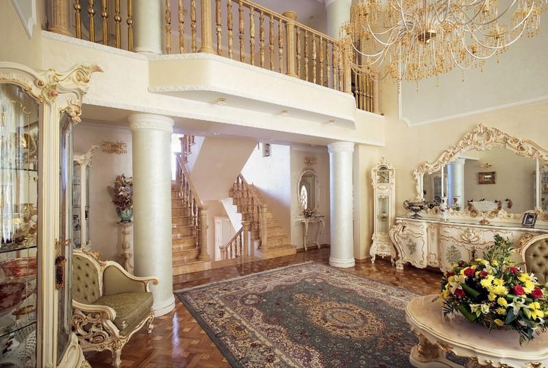 Ремонт частного дома барокко