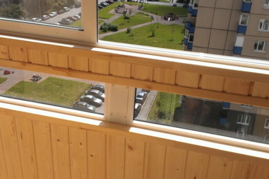 Остекление балконов и лоджий стройремонт.