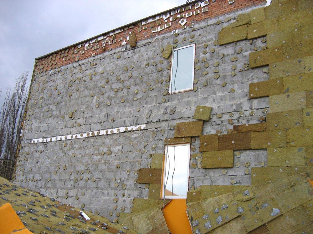Отделка фасада дома с газобетонных блоков