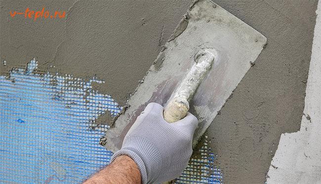 Утепление фасада пенопластом мокрый фасад